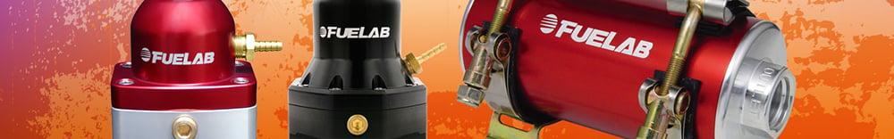 Fuelab 40402-1 Reduced Size Black In-Line Fuel Pump