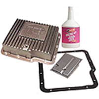 Transmission Pan, Fluid, and Filter Kits