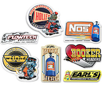Decals, Pins, Patches, Signs, Banners, Magnets & Lanyards