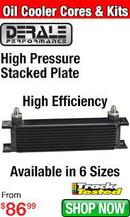 Derale High Pressure Stacked Plate Oil Cooler Cores and Kits