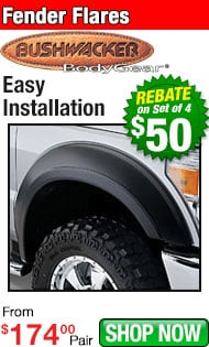 Bushwacker Rebate