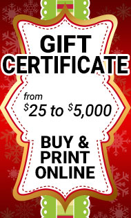 JEGS Gift Certificates
