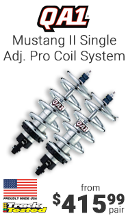 QA1 Mustang II Single Adjustable Pro Coil System