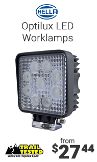 Hella Optilux LED Worklamps