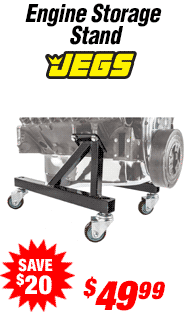 JEGS Performance Products Engine Storage Stand