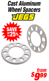 JEGS Performance Products Cast Aluminum Wheel Spacers