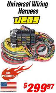 JEGS Performance Universal Wiring Harness