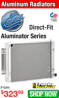 Be Cool Aluminator Series Direct-Fit Aluminum Radiators