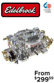 Edelbrock Carburetors @ JEGS