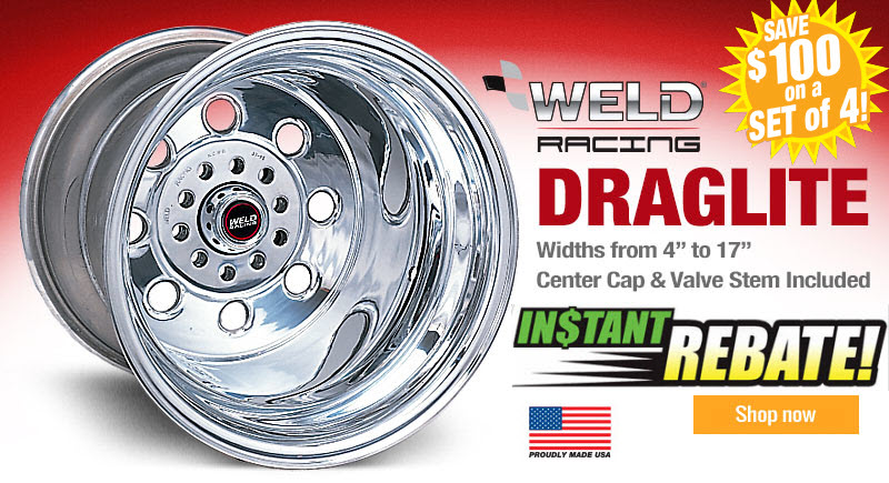 Weld Wheel Instant Rebate