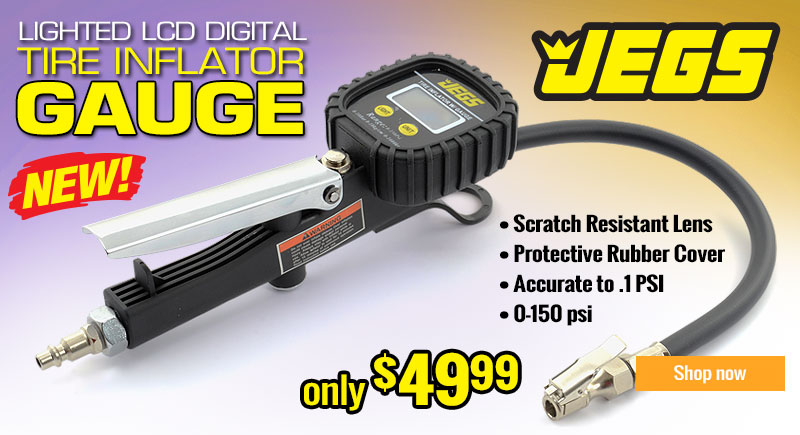 JEGS Digital Tire Inflator
