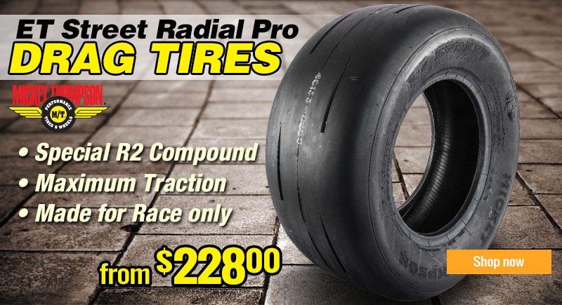 Mickey Thompson ET Street radial Pro Tire