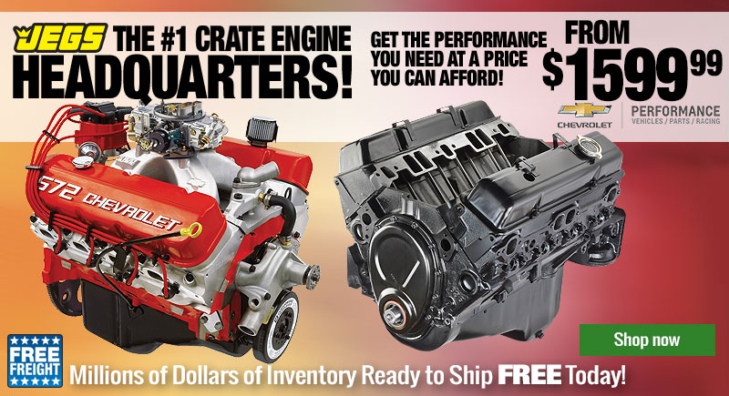 All GM Engines - Free Shipping