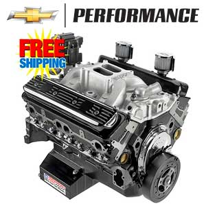 Chevrolet Performance Circle Track Crate Engines