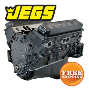 Save Up to $300 on JEGS Chevy 350 Crate Engines