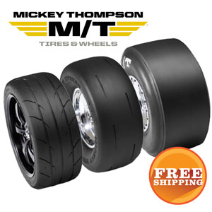 Save $25 on a Pair, Save $50 on 4 Mickey Thompson Tires