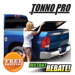 Save $50 off all Tonno Pro Tonneau Covers