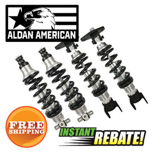 Save $100 off Select Aldan American Coil-Over Conversion Kits