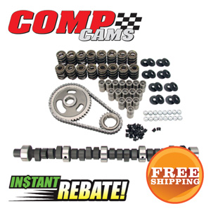 Save $40 on all Comp Cams Camshaft, Lifters, Springs & Timing Chain K-Kits
