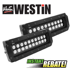 10% off Westin Protraxx & HDX steps and 15% off of Westin Jeep products