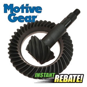 Save 10% off all Motive Gear Products