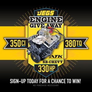 Enter the JEGS Engine Giveaway!