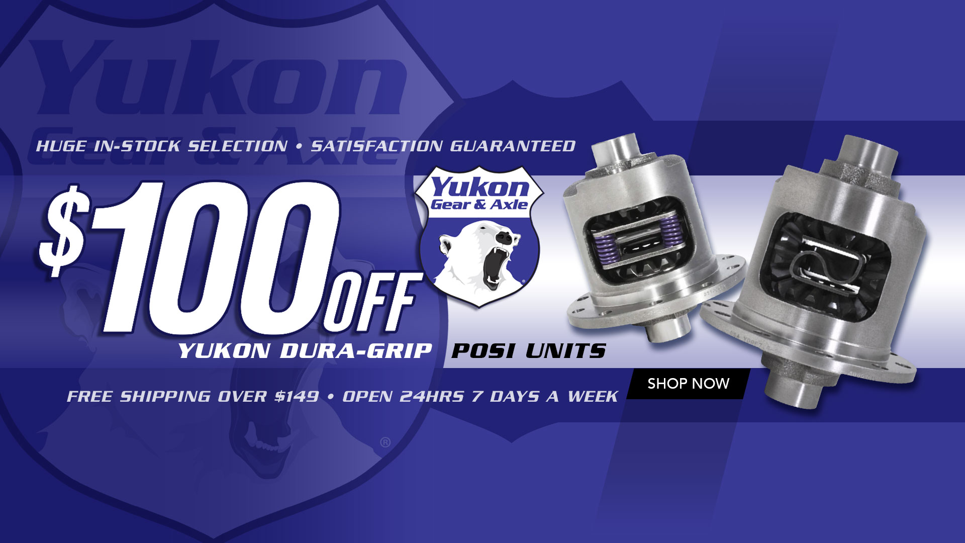 Save $100 on Yukon Gear Dura Grip Limited-Slip Positraction