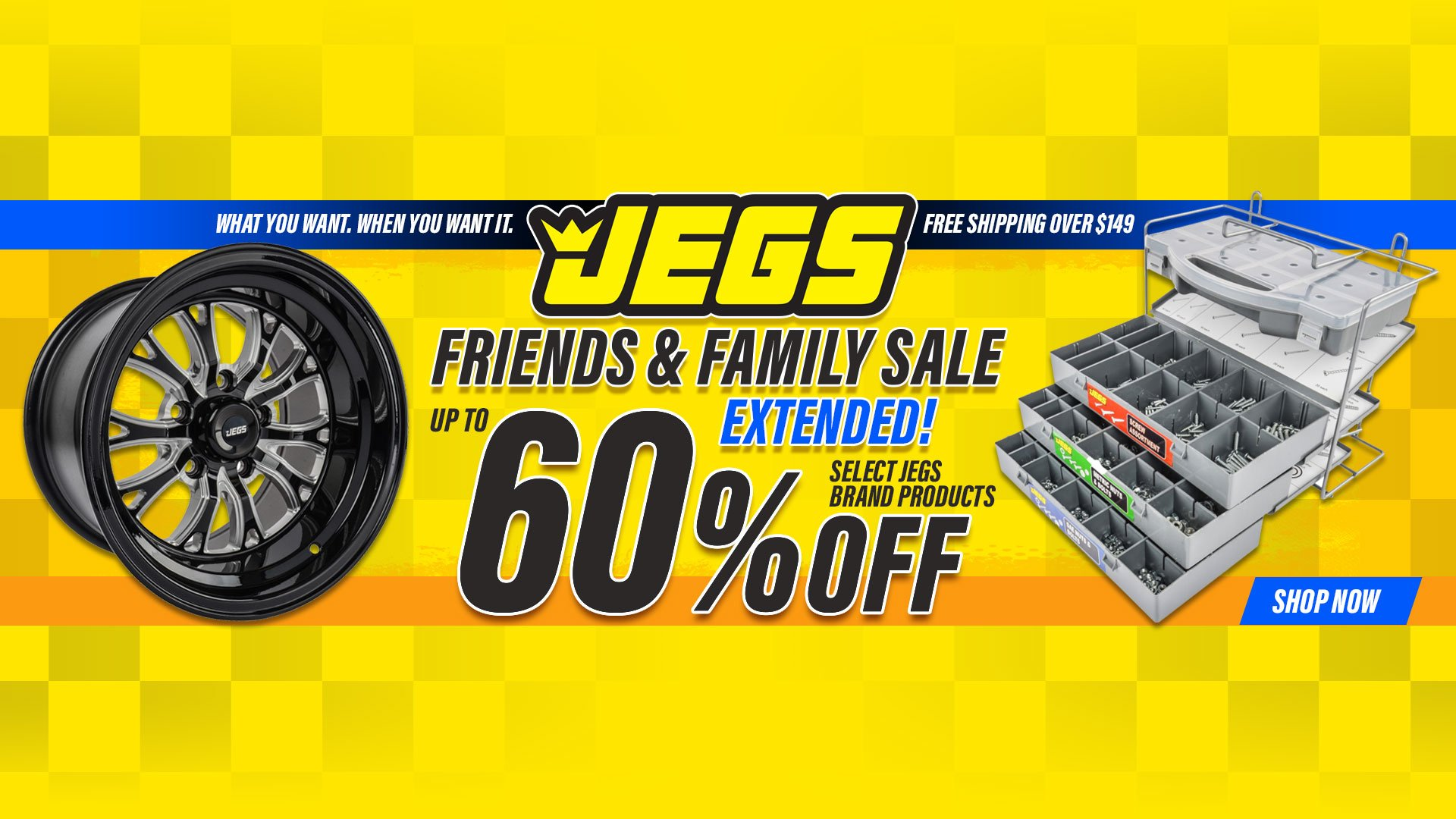 Extended JEGS Friends and Family Up to 60% Off