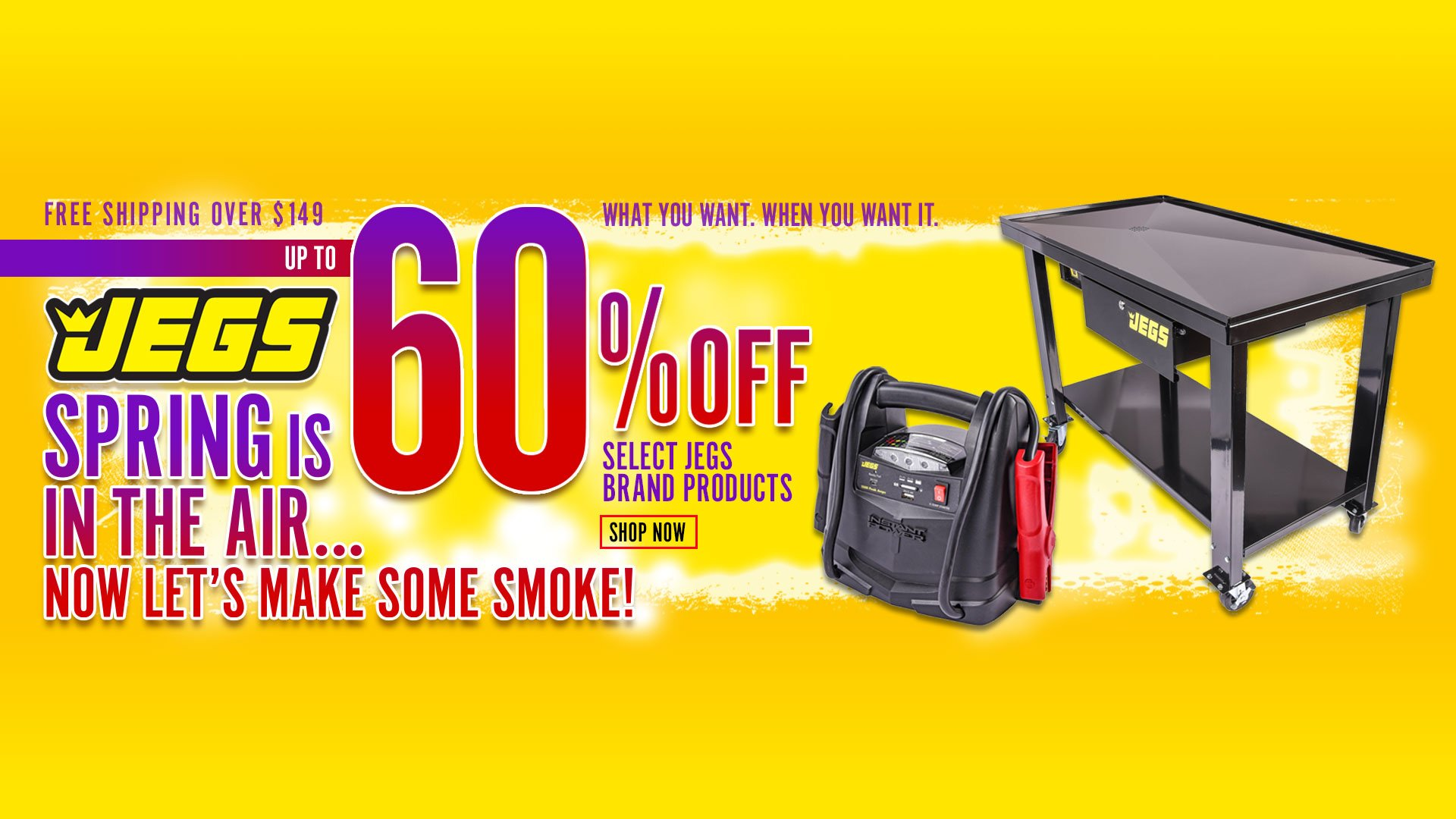 JEGS Spring is in the Air - Up to 60% Off
