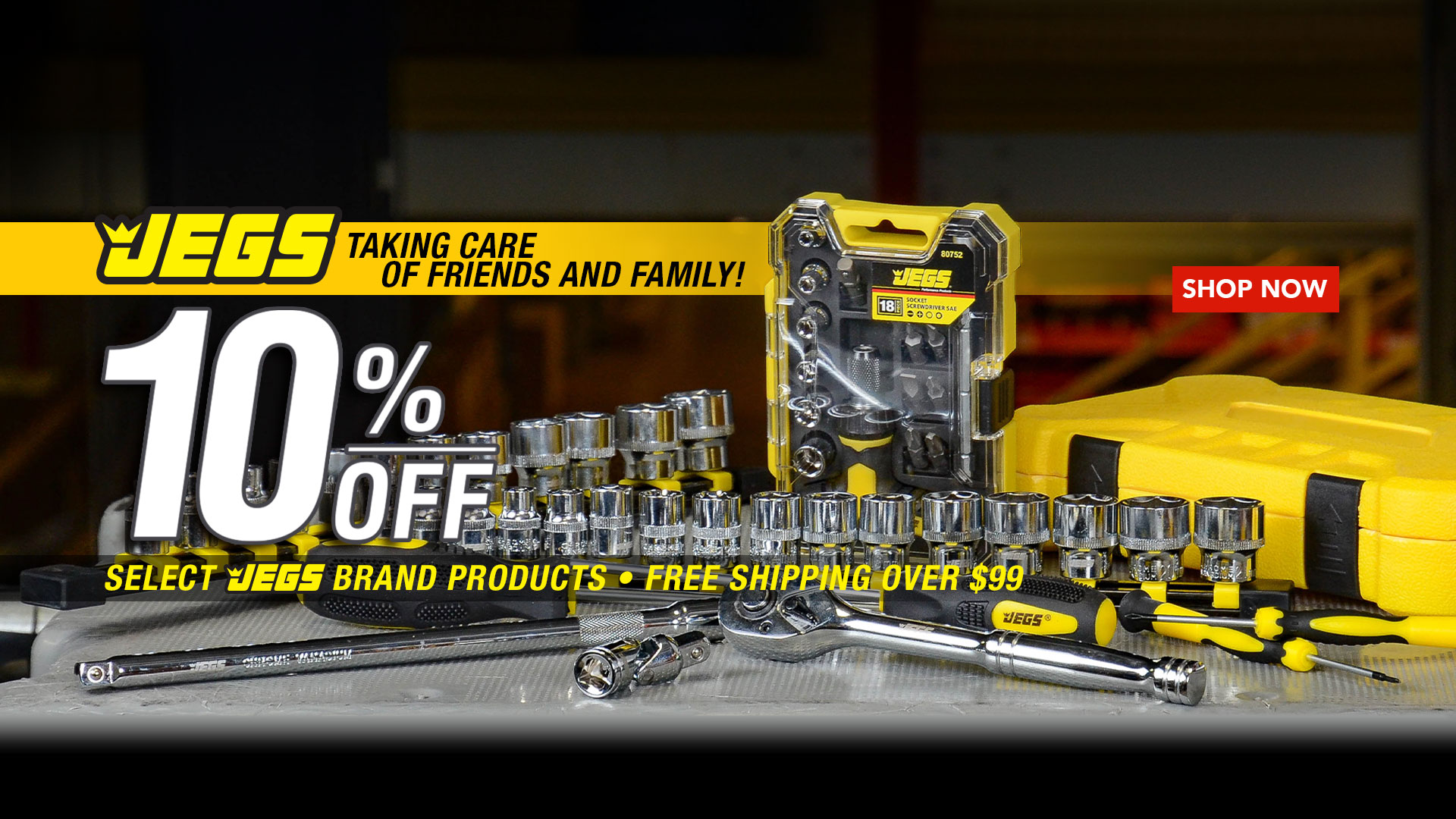 JEGS Taking Care of Friends and Family 10% off
