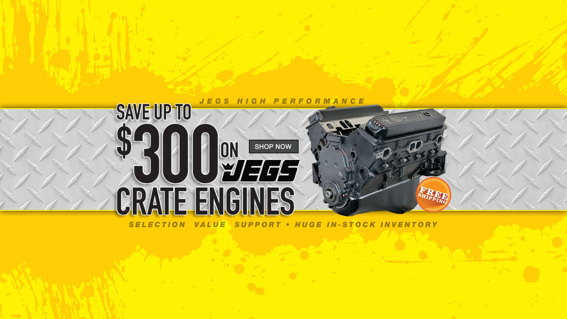 JEGS Crate Engine Save Up to $300