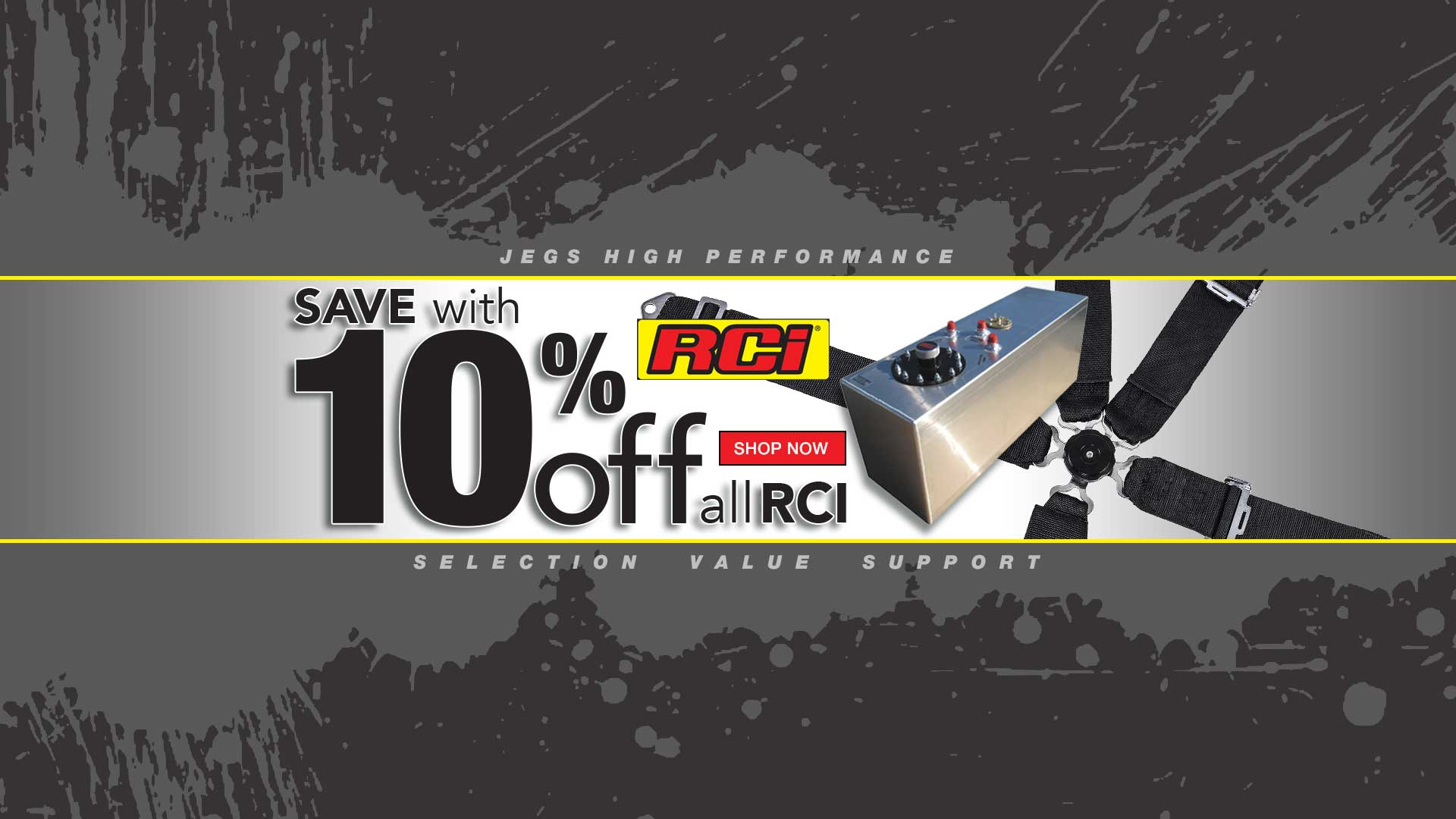 10% off RCI Products