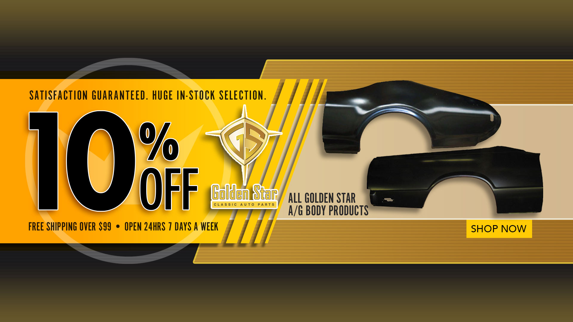 Save 10% on Golden Star A and G Body Products