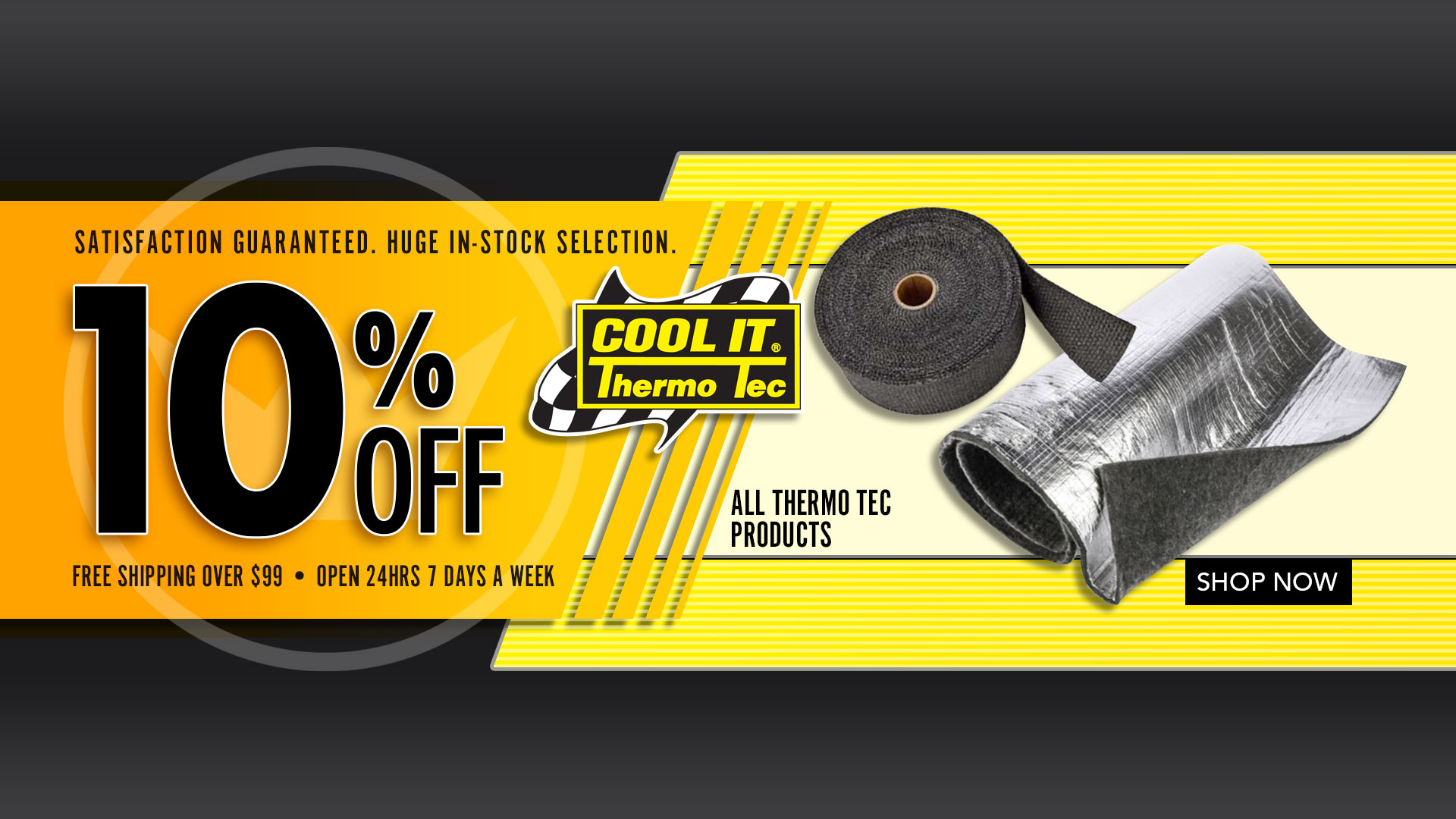 Save 10% off all Thermo Tec Products