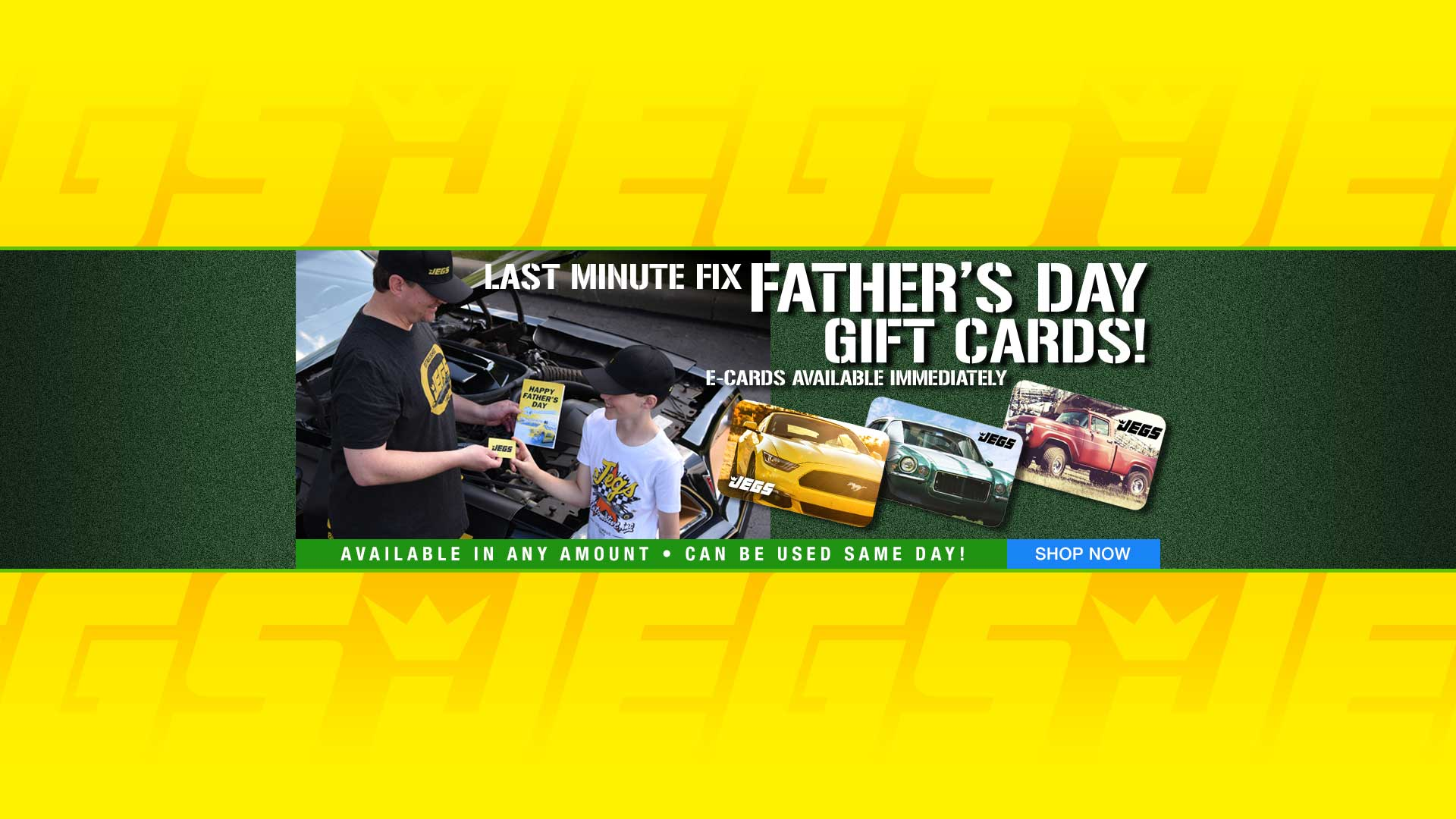 Father's Day Sale - Gift Cards