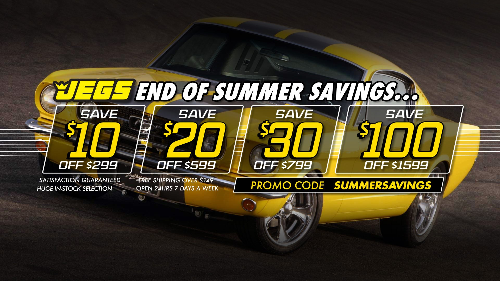 Save $10 off $299, $20 off $599, $30 off $799, $100 off $1,599 - Promo Code SUMMERSAVINGS