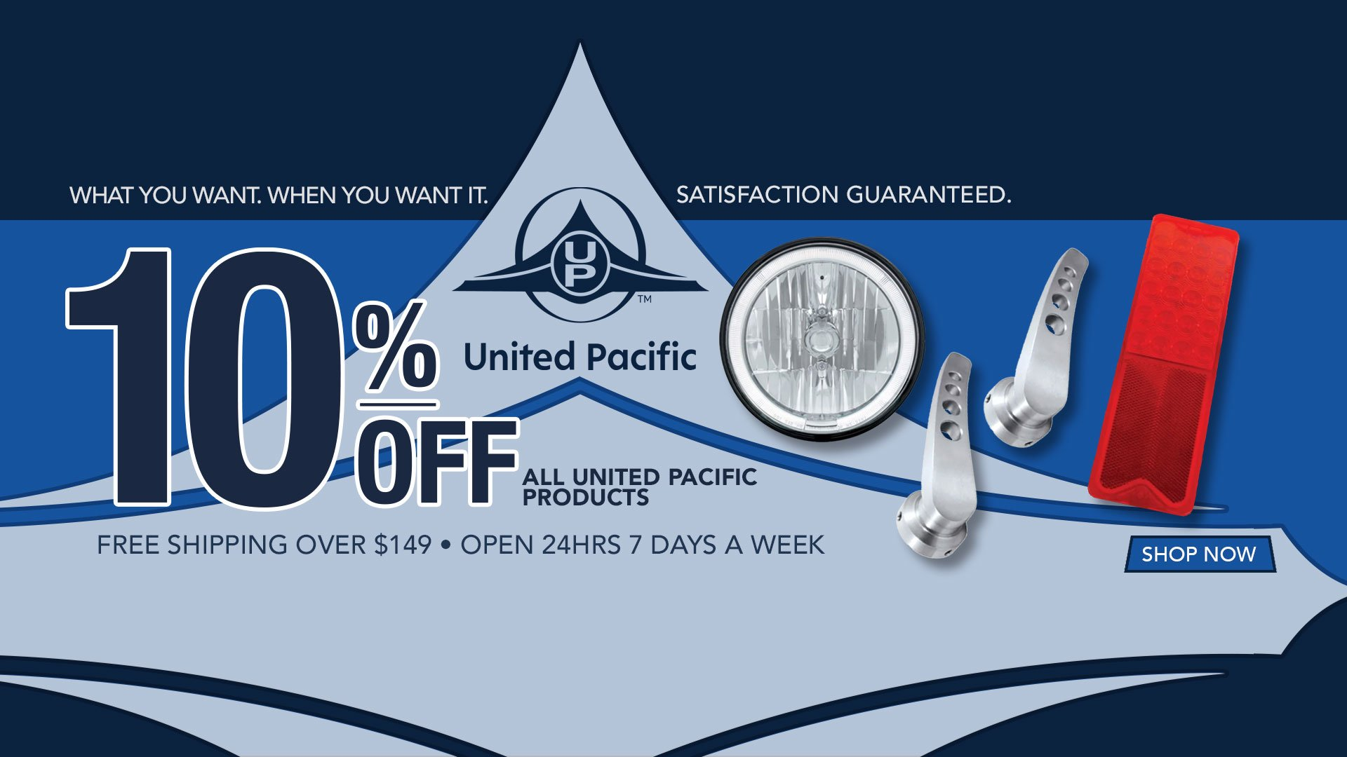 Save 10% on All United Pacific Products