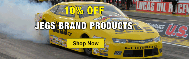 10% OFF JEGS brand