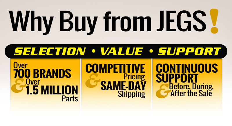 Why Buy From JEGS