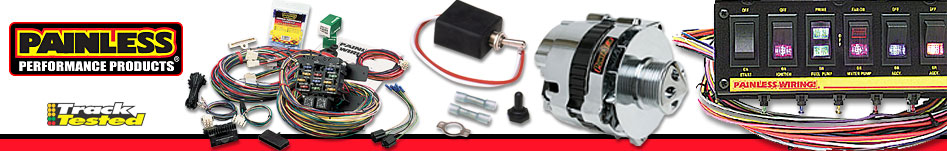 JEGS has an extensive inventory of Painless wiring harness and electrical