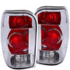 Anzo 211082 - Anzo Chrome Euro Taillights