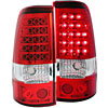 Anzo 311007 - Anzo Red/Clear LED Taillights