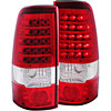 Anzo 311010 - Anzo Red/Clear LED Taillights