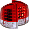 Anzo 311013 - Anzo Red/Clear LED Taillights