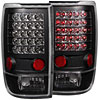 Anzo 311021 - Anzo Black LED Taillights