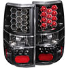Anzo 311024 - Anzo Black LED Taillights