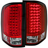 Anzo 311047 - Anzo Red/Clear LED Taillights