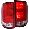 Anzo 311089 - Anzo Red/Clear LED Taillights