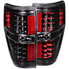 Anzo 311145 - Anzo Black LED Taillights