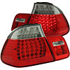 Anzo 321004 - Anzo Red/Clear LED Taillights